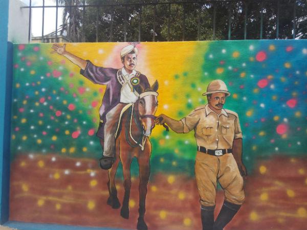 ಮೈಸೂರು ದಸರಾ: ಕುದುರೆ ಏರಿ ನಗರ ಪ್ರದಕ್ಷಿಣೆ ಹಾಕಿದ ಮೇಯರ್