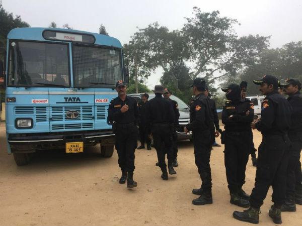 Karnataka Government Arranges Tight Security For Mysuru Dasara
