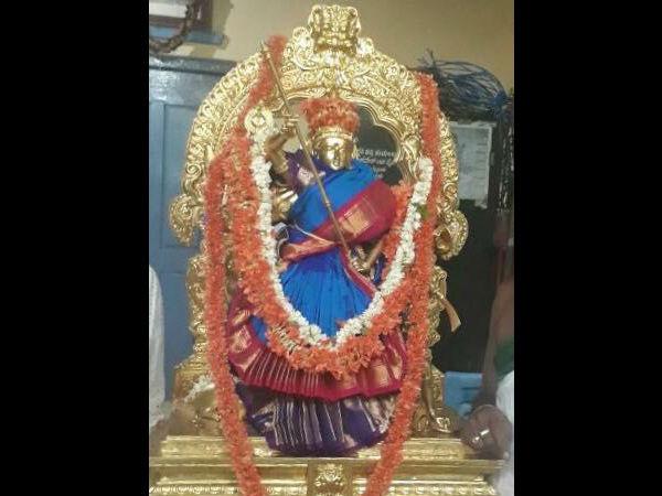 Karnataka Cm Siddaramaiah S Wife Parvati Gifted Saree To Goddes Chamundeshwari