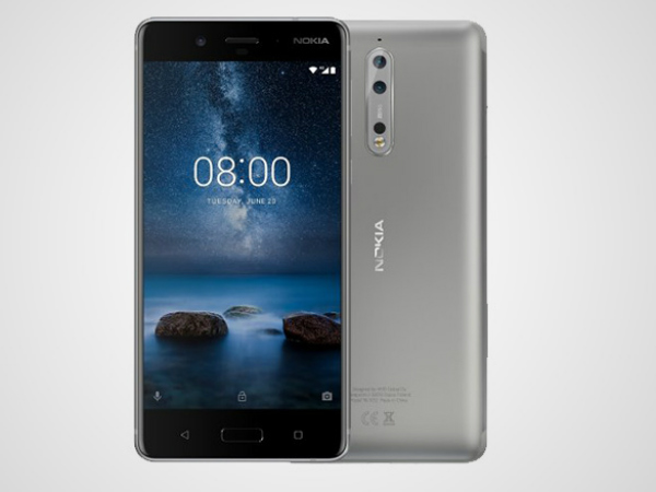 Nokia 8 launched in India for Rs 36,999