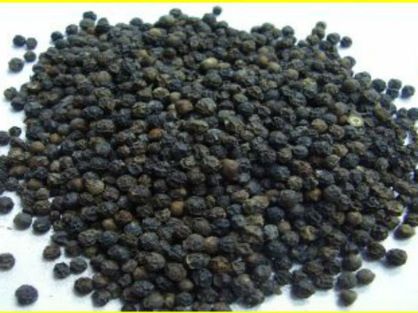 Low Quality Vietnam Pepper Selling In Kodagu