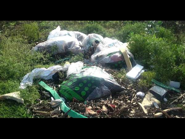 Gundlupet Becomes Garbage Dumping Centre For Kerala