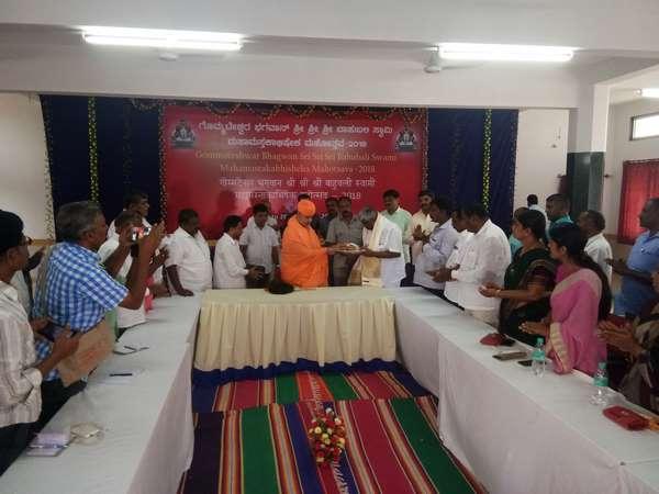 Mahamastakabhisheka Hd Revanna Visits Shravanabelagola