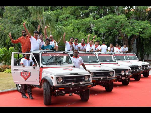 Now tourists visiting Mysuru can have Open Jeep experience