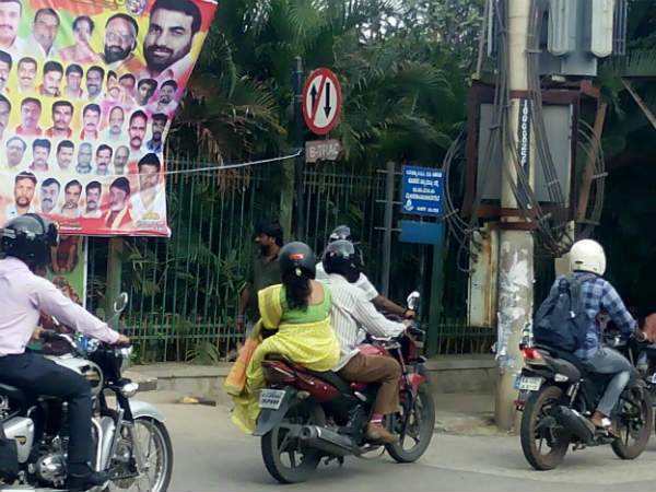 Oneindia Impact Police Controlling Traffic At Avalahalli Junction