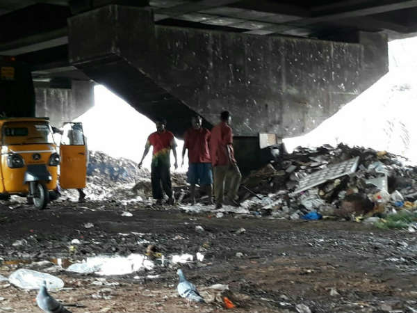 Bengaluru Civic Issues Laggere Bridge On Outer Ring Road