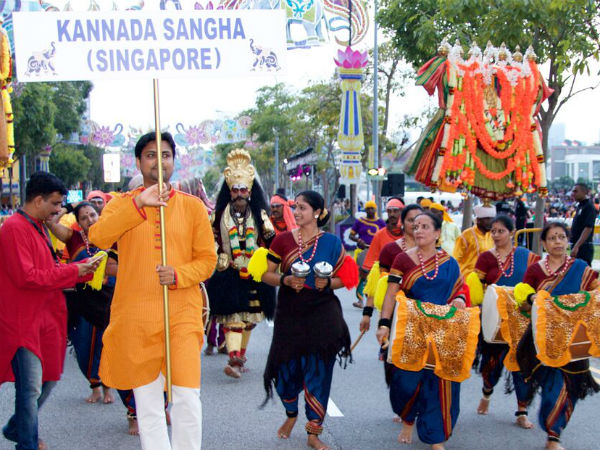 Karnataka Folk Art Showcased In Singapore