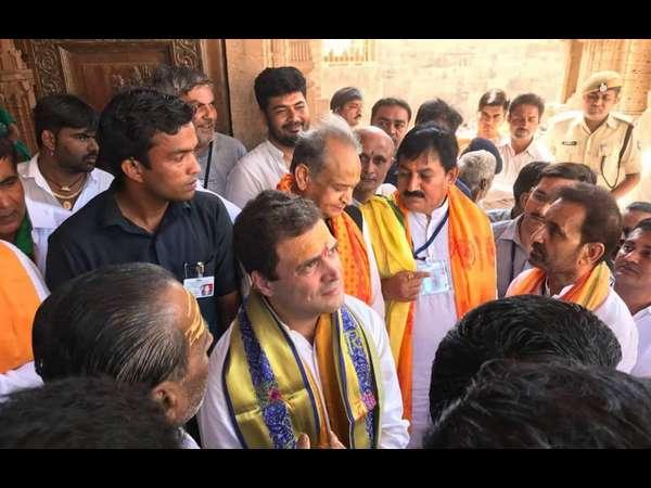 Aicc Vp Rahul Gandhi Started Gujarat Campaign With Bullock Cart Yatra