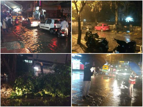 Heavy rain lashes out Bengaluru on September 8th night
