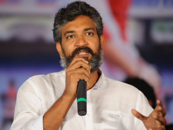 Rajamouli assisting AP CM for designing Assembly building
