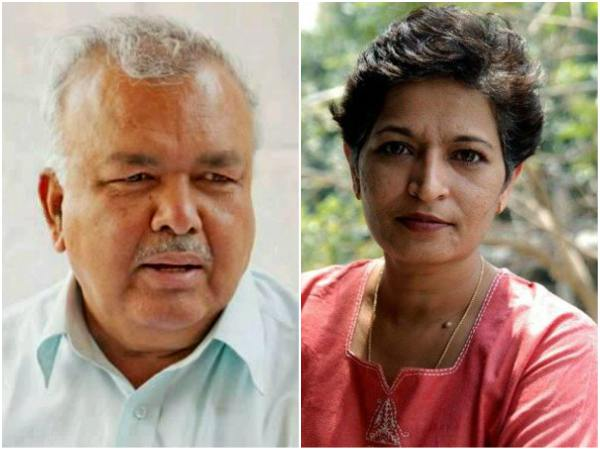 Lakh Reward For The Person Who Will Give Information About Gauri Lankesh S Killers