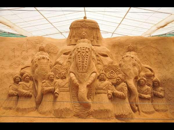 ಮೈಸೂರಿನಲ್ಲಿದೆ ಭಾರತದ ಮೊದಲ ಮರಳು ಶಿಲ್ಪ ಮ್ಯೂಸಿಯಂ!