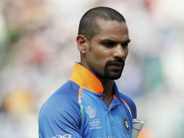 Shikhar Dhawan Released For First Three Odis Against Australia