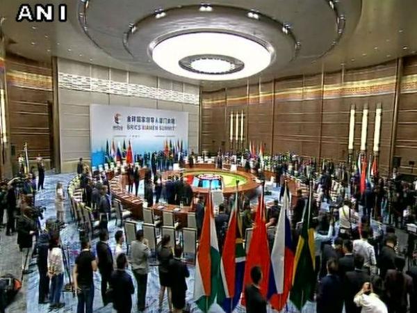 China Brics Plenary Session Begins In Xiamen Pm Modi Attends