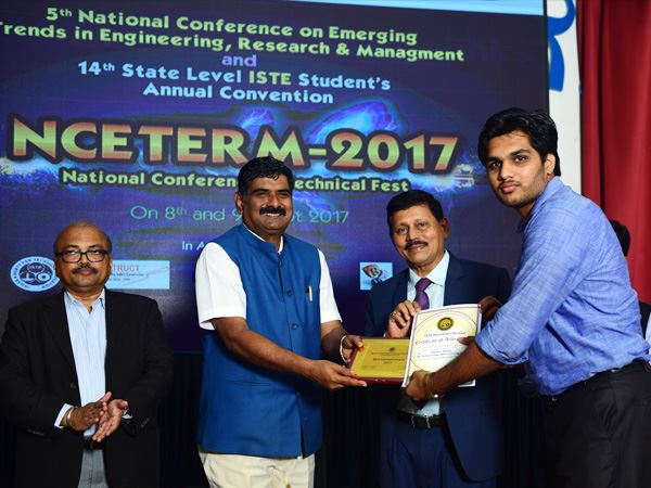 Bantakal Engineering College Student Bags Best Student Award