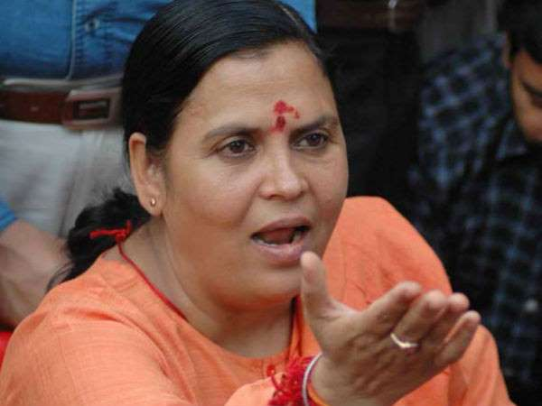 Who Has Saved Union Minister Uma Bharti From Cabinet Axing