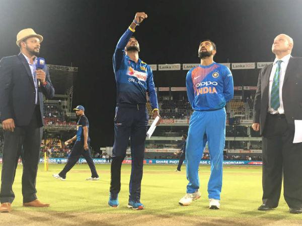 Sri Lanka Actually Won The Toss One Off T20i Not India Virat Kohli