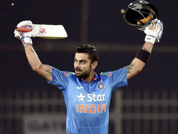Virat Kohli Smashes 30th Odi Ton To Draw Level With Ricky Ponting