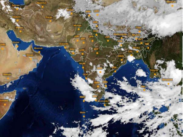 ಬೆಂಗಳೂರಿನಲ್ಲಿ ಸೋಮವಾರ ಮುಂಜಾನೆಯೇ ವರುಣನ ಆರ್ಭಟ