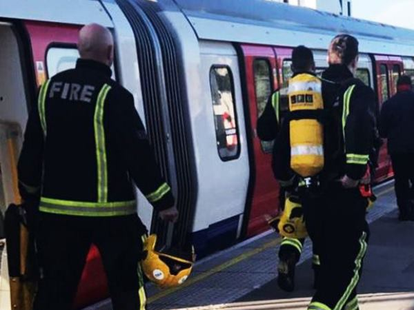 London Blast : Reported explosion in London train station