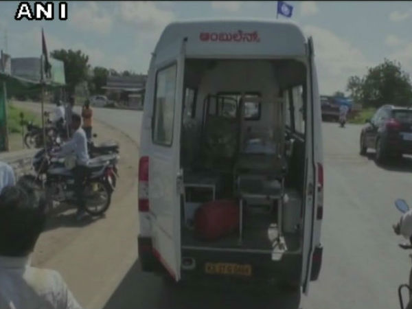 Govt Doctor In Karnataka Uses Ambulance To Transport Furniture Of His Clinic