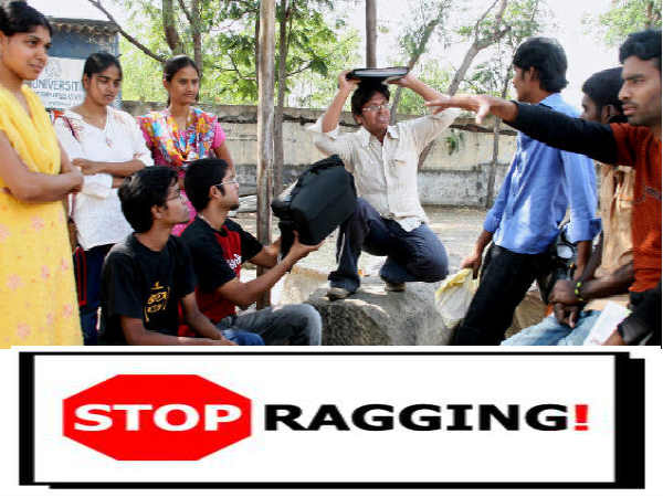 Students Of It University In Andhra Suspended For Ragging