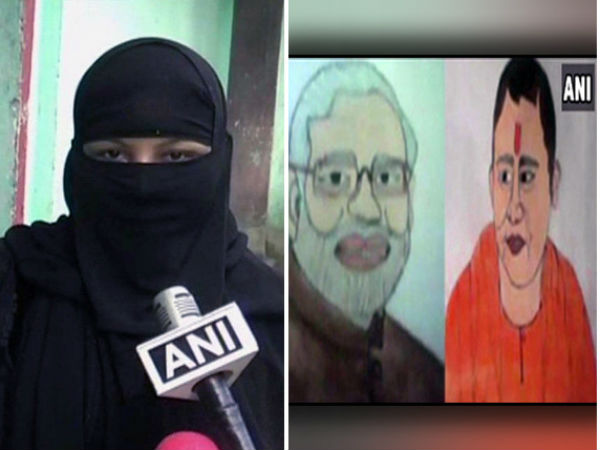 Muslim woman thrown out by in-laws for making 'Modi-Yogi' painting in UP