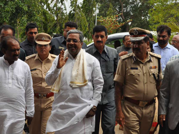 Chief Minister Siddaramaiah state tour from December 15, 2017
