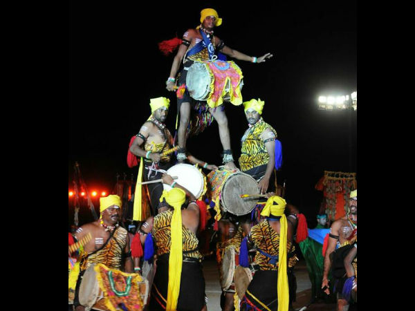 Mysuru Dasara Torchlight Parade Thrills Thousands Of Audience