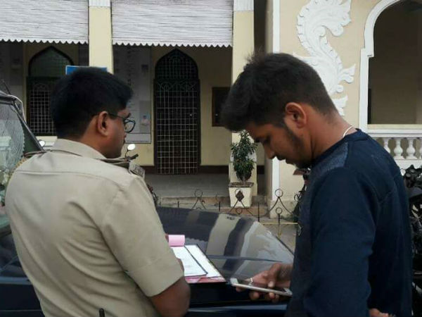 Operation Cheetah in Mysuru: Rs.4.68 lakh fine collected in a single day.