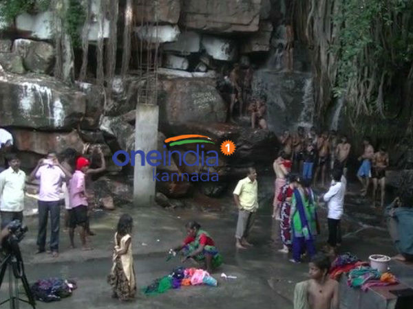 Dammur falls tourist attraction of Bagalkot district