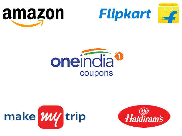 Oneindia Coupons Diwali Sale: Flipkart, Amazon, MakeMyTrip, Haldirams Upto 70 percent Off