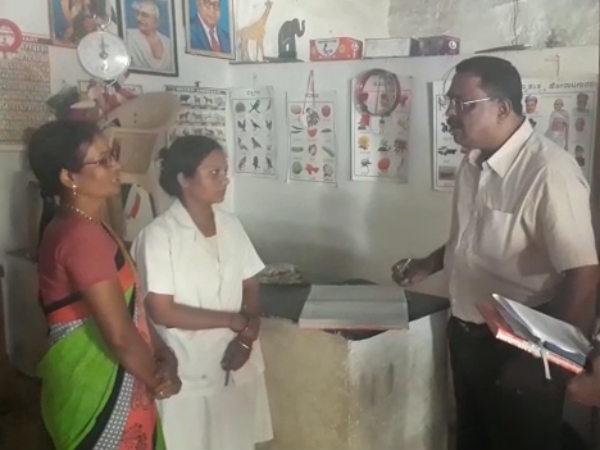 ಬಾಗಲಕೋಟೆ : ಅಂಗನವಾಡಿಗೆ ಜಿಲ್ಲಾಧಿಕಾರಿಗಳ ದಿಢೀರ್ ಭೇಟಿ