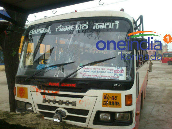 SRTC bus services to Maharashtra stopped