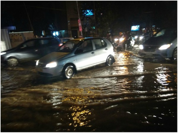 Heavy rain once again lashes out Bengaluru on October 12th night