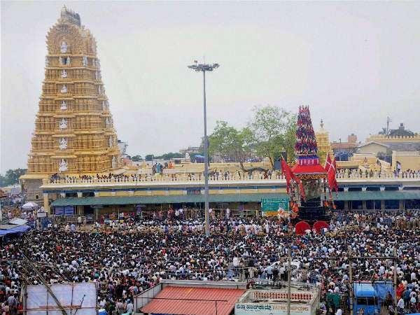 Online ticket booking for Chamundeshwari temple in Mysuru becomes very popular