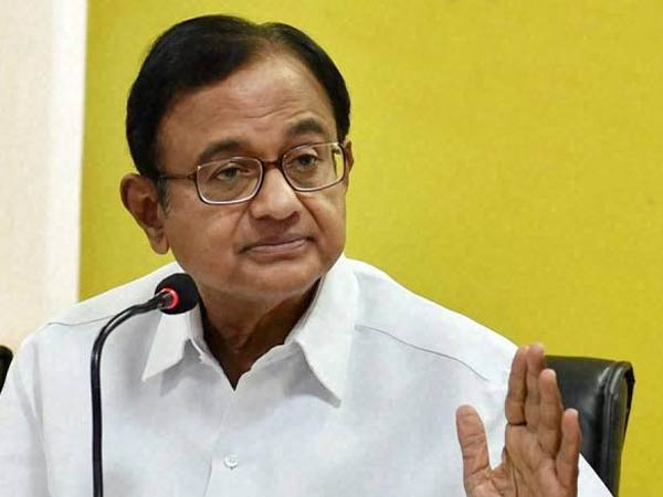 Former FM P Chidambaram takes dig at EC for delaying Gujarat poll announcement