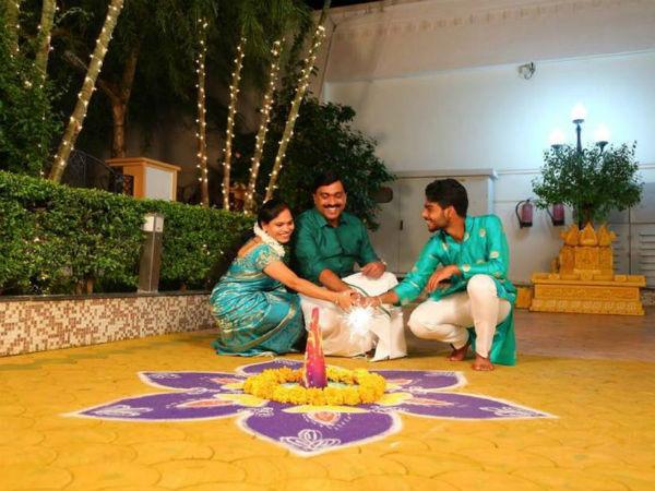 ಚಿತ್ರಗಳು : ಬಳ್ಳಾರಿಯಲ್ಲಿ ಜನಾರ್ದನ ರೆಡ್ಡಿ ದೀಪಾವಳಿ ಆಚರಣೆ