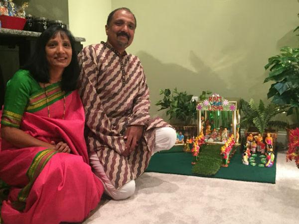 Navaratri Dolls Show By Usha Ram Prasad In America