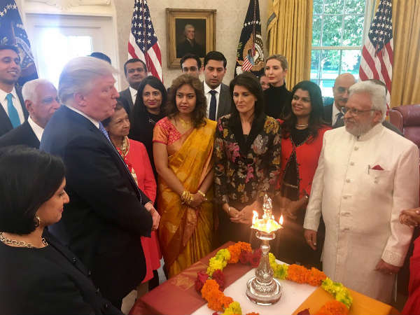 From Ivanka Trump - Deepavali Greetings and a message ahead of India visit