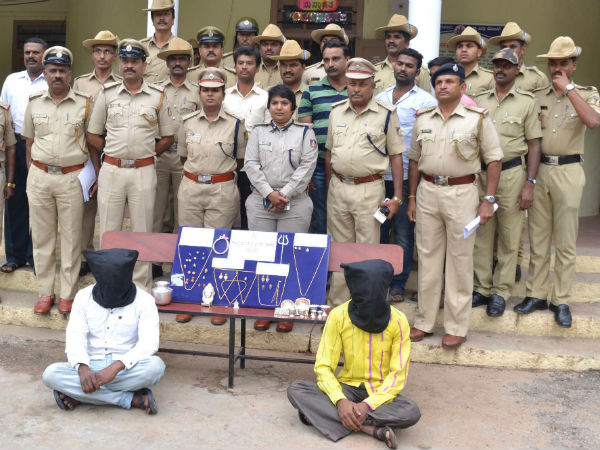 Two House Thieves Arrested Rs 7 Lakh Worth Gold Seized In Mandya