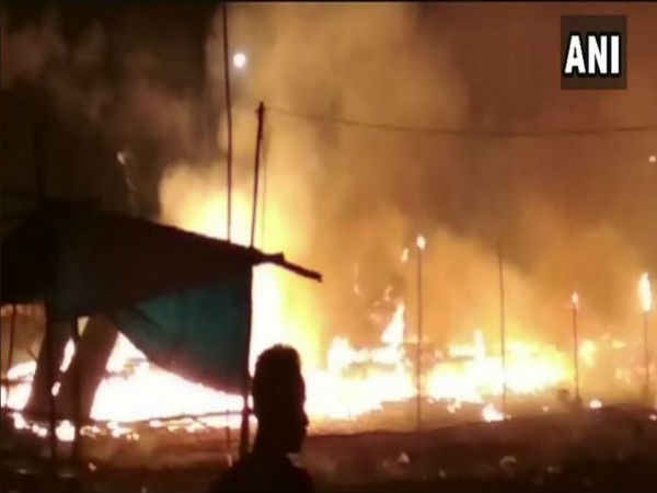 One died, three injured after fire broke out in cracker shop at Odisha