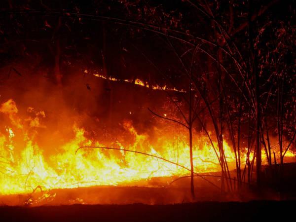 Wildfire In California Kills 10 People 57 000 Acre Burn