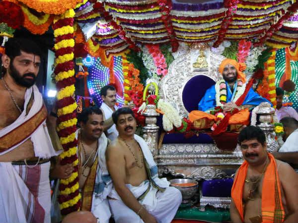 ಕಾಶೀ ಮಠಾಧೀಶ ಸಂಯಮೀಂದ್ರ ತೀರ್ಥರ 'ಚಾತುರ್ಮಾಸ ದಿಗ್ವಿಜಯ'