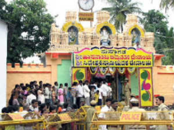 The week-long Hasanamba festival end, temple door closed today