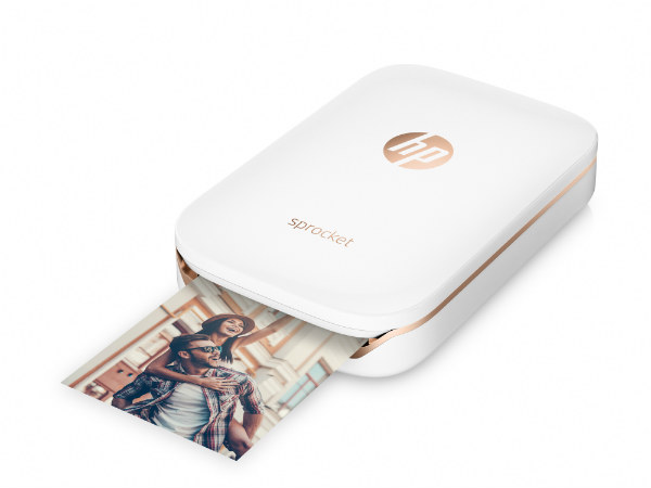 Hp Launches Sprocket Pocket Size Photo Printer