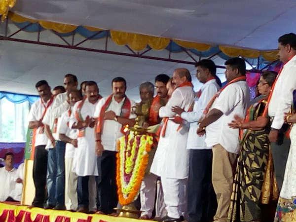 'ಕಾಂಗ್ರೆಸ್ಸಿಗರು ಆಧುನಿಕ ಭಸ್ಮಾಸುರರು' : ಅನಂತ್ ಕುಮಾರ್ ವಾಗ್ದಾಳಿ