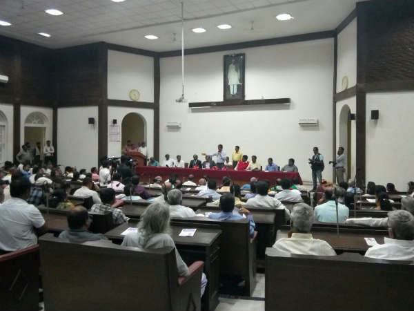 Preview Meeting For Mysuru Kannada Sahitya Sammelana