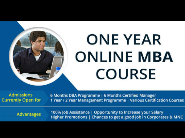 you must know ISDC one year online MBA course