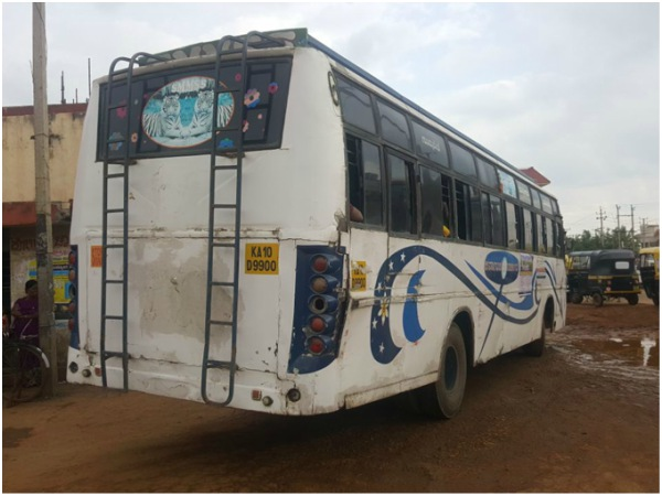 Old Buses Playing With Life Of Tourists In Male Mahadeshwara Hills